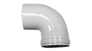 Відведення 90° Bosch AZ 407 для роздільних димоходів Ø80