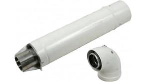 Коаксіальний горизонтальний комплект Bosch AZ 389 Ø60/100 мм