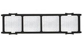 Фільтр повітряний для спліт-систем Midea, Silver ion