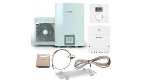 Тепловий насос Bosch Compress 3000 AWES 4 з термостатом CR10, модулем ProControl Gateway, конденсатозбірником, електрокабелем