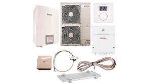 Тепловий насос Bosch Compress 3000 AWES 15 з термостатом CR10, модулем ProControl Gateway, конденсатозбірником, електрокабелем