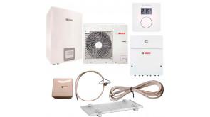 Тепловий насос Bosch Compress 3000 AWBS 6 з термостатом CR10, модулем ProControl Gateway, конденсатозбірником, електрокабелем