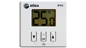 Термостат кімнатний бездротовий Roda RTF2 з приймачем F2