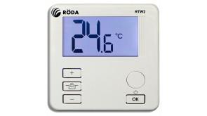 Термостат кімнатний Roda RTW2 з кабелем