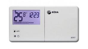 Термостат кімнатний недільний Roda RTF7 бездротовий