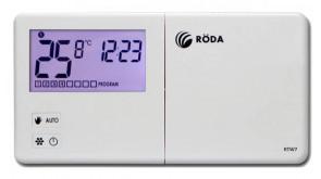Термостат кімнатний недільний Roda RTW7 дротовий