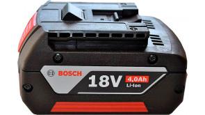 Акумулятор Bosch GBA 18 V 4,0 Ah M-C Professional