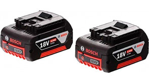 Акумулятори Bosch GBA 18V 4.0Ah Professional, 2 шт