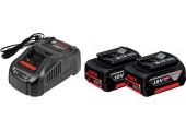 Набір 2 акумулятора Bosch GBA 18V 5 Ah + ЗП GAL 1880 CV